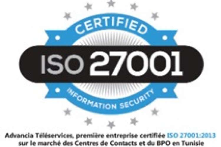 ISO 27001:2013 Advancia Téléservices